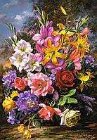 Пазл Ваза с цветами 1000 деталей С-103607
