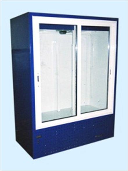 Шкаф холодильный с раздвижными стеклянными дверьми ШХС-0.8 Айстермо - PROF-OBORUD в Киеве