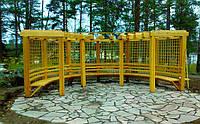 Полукруглая деревянная пергола Термодерево ТМ