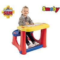 Детская парта со скамейкой Smoby 420205 «Пожарник Сэм»