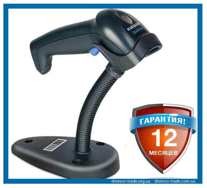 Сканер штрих-кодов Datalogic QuickScan L QD2300 + подставка - Торговое оборудование для вашего бизнеса в Киевской области