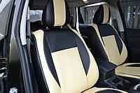 Чехлы из экокожи или экокожа+ткань Hyundai Matrix 2002- г.