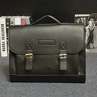 Мужской кожаный портфель Модель - 2130, фото 2