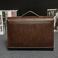 Мужской кожаный портфель Модель - 2130, фото 5