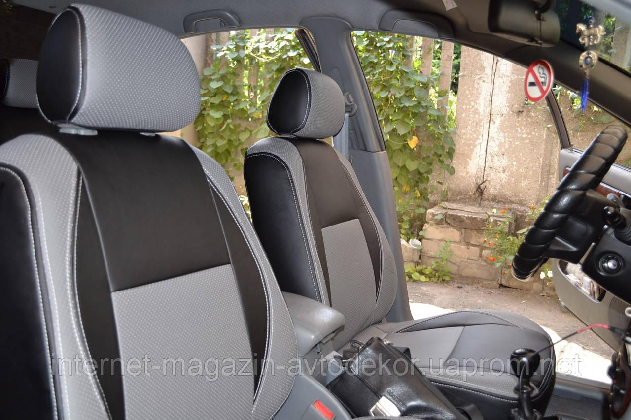 Чехлы из экокожи или экокожа+ткань Volkswagen (ФольксВаген).