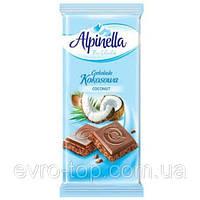 Шоколад  Alpinella Kokosowa 90г (Польша).