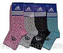 Носки женские спортивные Adidas размер 36-40 (разные цвета)