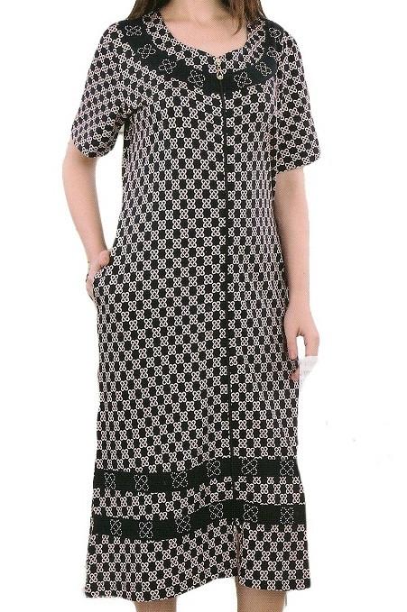 Купить Красивый женский халат из вискозы с 50-56 в интернет магазине