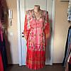 Женское платье- туника летнее цветное яркое шелковое MARKSHARA