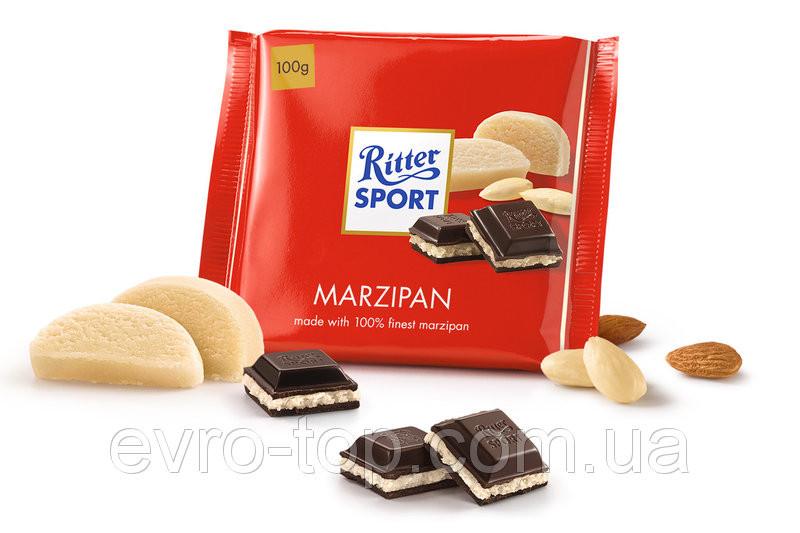 Шоколад RITTER SPORTс марципаном 100г(Германия)
