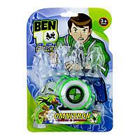 """Часы BEN 10 """"Alien Force Omnitron"""" c 4-мя фигурками."""