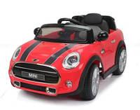 Эл-мобиль T-7910 Mini RED легковая на р.у. 6V7AH с MP3 110*62*51 ш.к. /1/