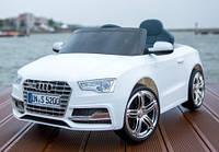 Эл-мобиль T-796 Audi S5 WHITE легковая на р.у. 6V7AH с MP3 109*61*37 ш.к. /1/