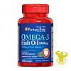 Жирные кислоты Puritan's Pride Omega-3 Fish Oil от Puritan's Pride