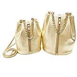 Стильна сумочка Polee Gold, фото 2