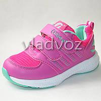 Легкие кроссовки для девочки розовые 28р. Clibee