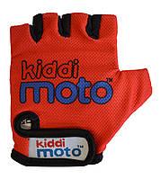 Перчатки детские Kiddi Moto красные, размер S на возраст 2-4 года