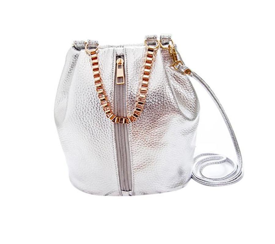 Женская сумка стиляга Polee Silver