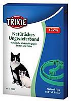 Ошейник противоблошный для котов и котят  Trixie  (биологич.) 35см