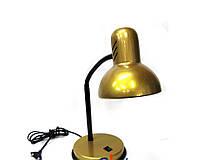 """Лампа настольная ТМ LOGA light """"Золото"""" (золотистая)"""