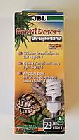 Ультрафиолетовая лампа для сухопутных и водных черепах JBL Reptil Desert UV 300/480 и Reptil Jungle UV 190/310
