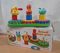 Деревянная игрушка Головоломка с животными