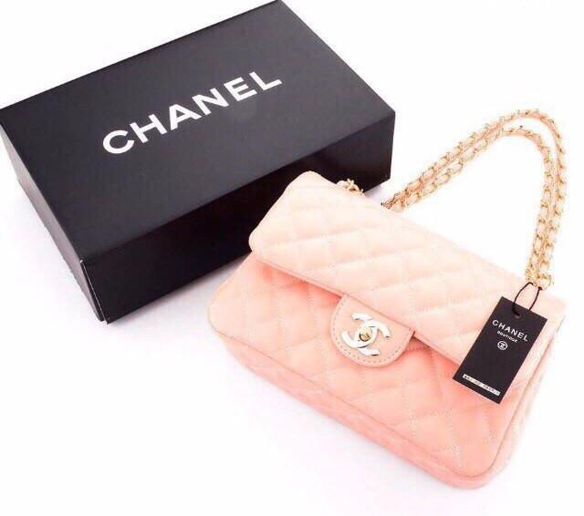 1cc6af73705f Сумка-клатч Coco Chanel в розовом цвете, цена 45 $, купить в Одессе ...