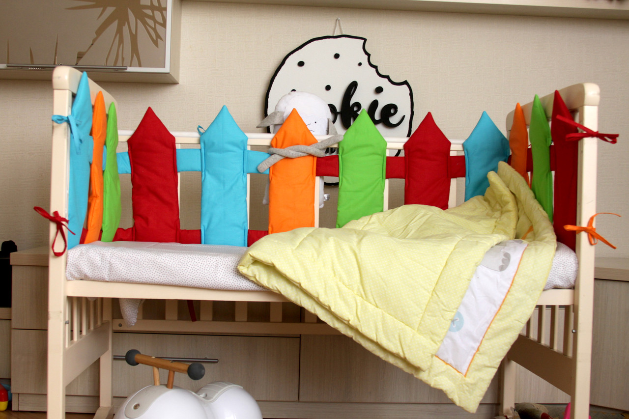 """Бортики у дитяче ліжечко """"Парканчик"""""""