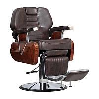 Мужское парикмахерское кресло Ambasciatori коричневое