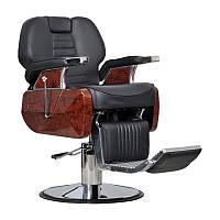 Мужское парикмахерское кресло Ambasciatori черное