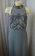 Платье вечернее в пол Lace&Beads р.46-48 7399, фото 1