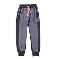 Серо-черные брюки для девочки GRACE