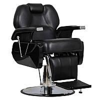 Мужское парикмахерское кресло Elite черное