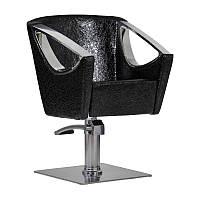 Парикмахерское кресло Avola черный крокодил