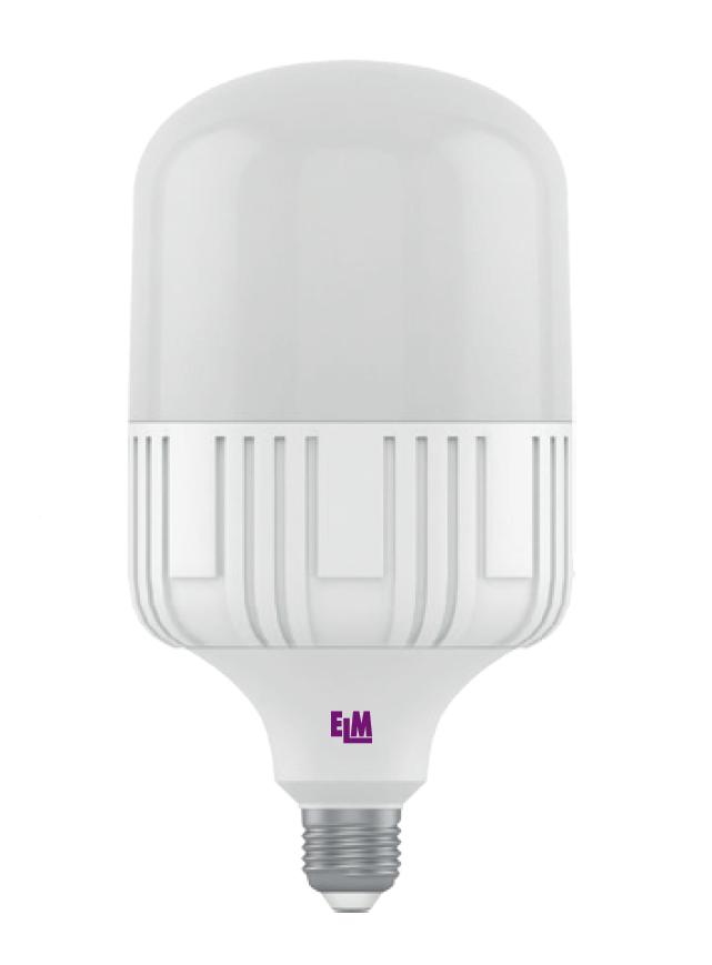 Лампа светодиодная TOR 20W E27 6500К 1700 Lm ELM мощная промышленная