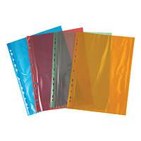 2004-25-А Файл А4+, глянцевий, 40мкм (100 шт.) оранжев