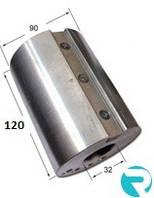Барабан шлифовальный 90х32х120 под наждачную бумагу