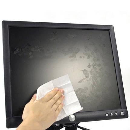 D5312 Серветки для екранів вологі, змінні, 100 шт., фото 2