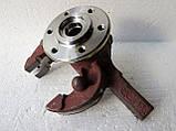 Кулак поворотный в сборе с подшипником и ступицей на Славуту, Таврию, фото 3