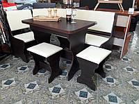 """Кухонный уголок """"Италия"""" с простым столом"""
