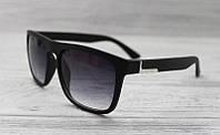 Мужские матовые солнцезащитные очки 2017 Черный