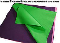 Фетр мягкий зеленый (1,4 мм, 50см х 40см)