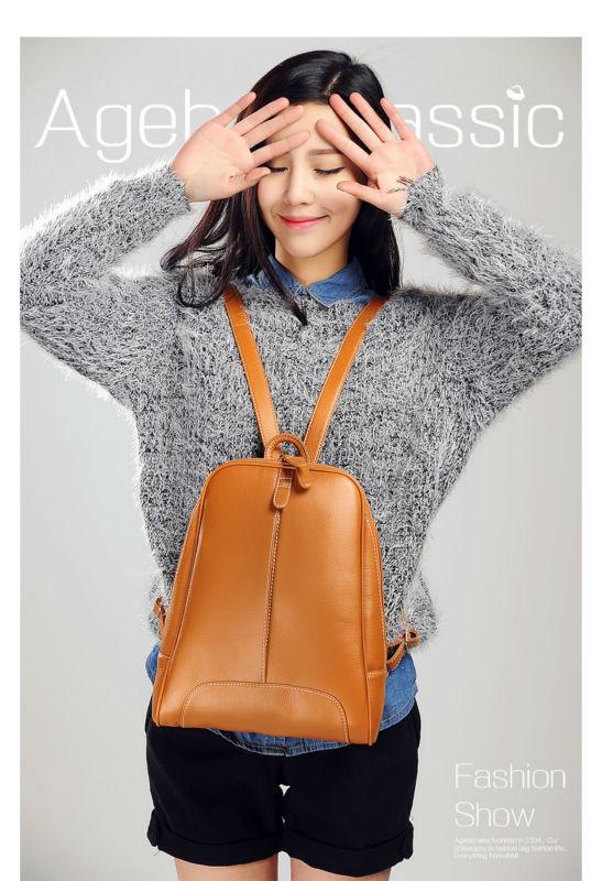 Городской женский рюкзак Agebel Brown
