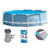 Бассейн каркасный Intex (28712) 366*76 с фильтр-насосом