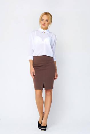 Классическая юбка женская Эвита капучино, фото 2