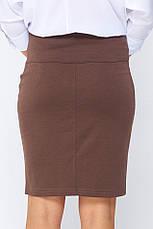 Классическая юбка женская Эвита капучино, фото 3
