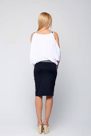 Черная юбка Гвинет, фото 2
