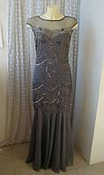 Платье вечернее бисер Miss Selfridge р.44-46 7478