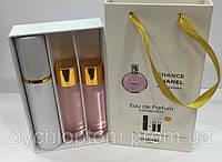 Подарочные мини духи 3*15мл Chanel Chance Tendre Woman 45ml оптом