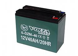 Тяговый свинцово-кислотный аккумулятор AGM 12 V 40AH.